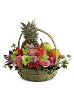 Fruit & Flowers Basket