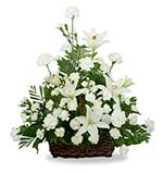 Serene Lily Basket